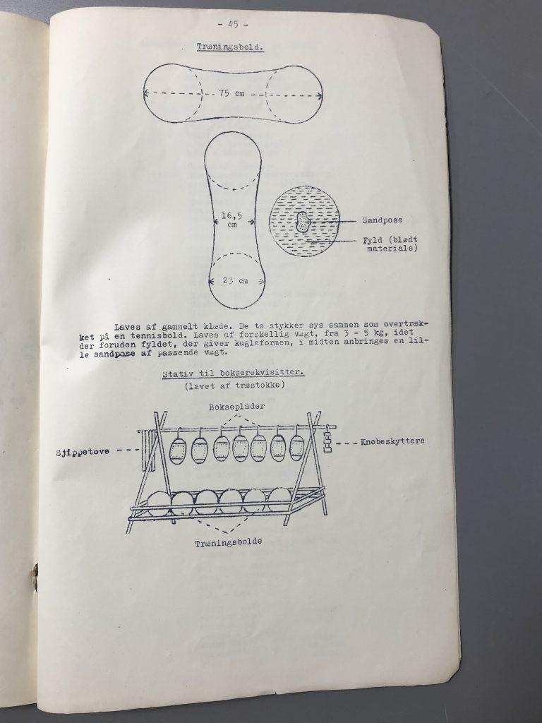Vejledning i boksning i 1938 og 1951 (Klik her for at se alle sider)